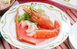 中華料理、手長海老の甘酢味の写真素材 [FYI01692556]