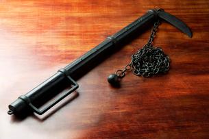 鎖鎌の写真素材 [FYI01692644]