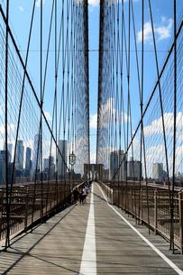 ブルックリン橋の写真素材 [FYI01692710]