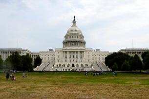 ワシントンD.C.の国会議事堂の建物の写真素材 [FYI01692834]