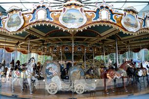 ブルックリンの回転木馬の写真素材 [FYI01692836]
