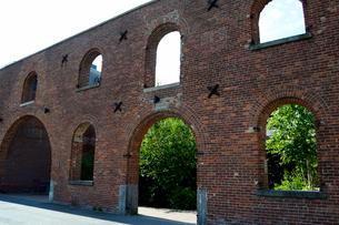 ブルックリンのダンボ地区の建物の写真素材 [FYI01692934]