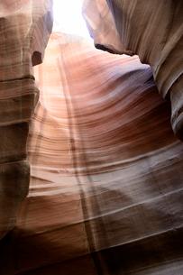 アンテロープキャニオンの峡谷の写真素材 [FYI01692961]
