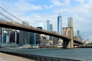 ブルックリン橋の写真素材 [FYI01693010]