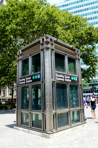 ロウアーマンハッタンのボウリンググリーン駅の写真素材 [FYI01693425]