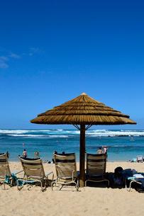 タートルベイの砂浜の写真素材 [FYI01693573]