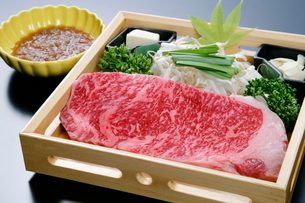 牛肉ステーキイメージの写真素材 [FYI01693849]