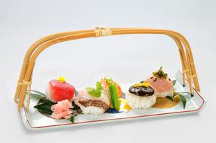 にぎり寿司の写真素材 [FYI01694019]