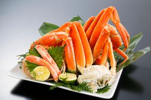 ズワイ蟹の足の写真素材 [FYI01694172]