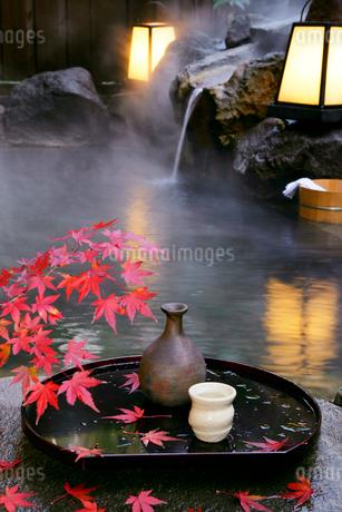 露天風呂の写真素材 [FYI01694184]
