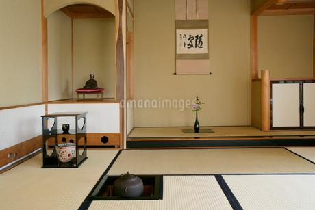 茶室の写真素材 [FYI01694238]