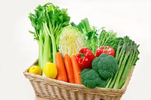 野菜の盛り合せの写真素材 [FYI01694240]