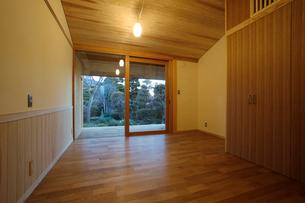 住宅の寝室の写真素材 [FYI01694382]