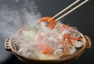 海鮮鍋の写真素材 [FYI01694383]