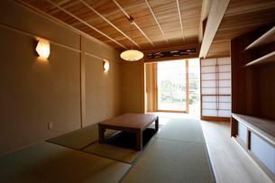 住宅の和室の写真素材 [FYI01694395]