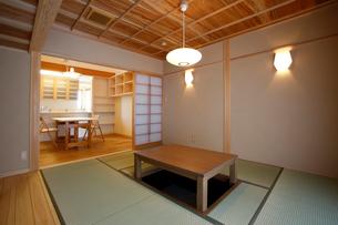 住宅の和室の写真素材 [FYI01694396]