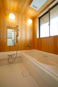 住宅の風呂の写真素材 [FYI01694618]