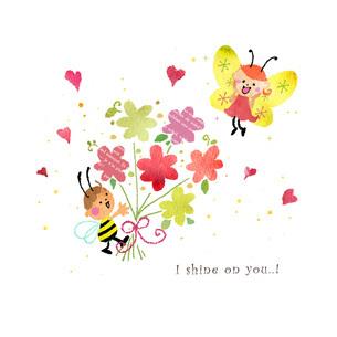 ハチの告白のイラスト素材 [FYI01694624]