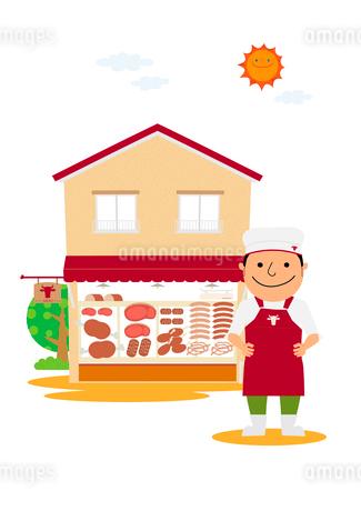 肉屋のイラスト素材 [FYI01698651]
