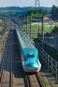 東北新幹線はやての写真素材 [FYI01698655]