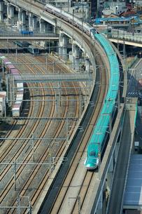 東北新幹線はやての写真素材 [FYI01698689]