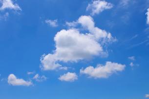青空と雲の写真素材 [FYI01699312]