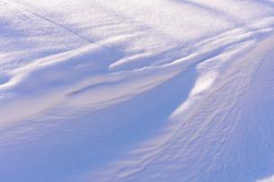 雪原の風紋の写真素材 [FYI01699334]