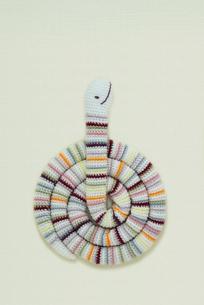 へび 編み物の写真素材 [FYI01699488]