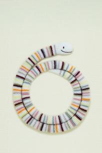 へび 編み物の写真素材 [FYI01699509]