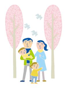 家族のイラスト素材 [FYI01699592]