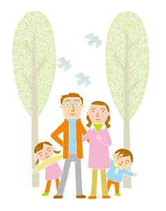家族のイラスト素材 [FYI01699607]