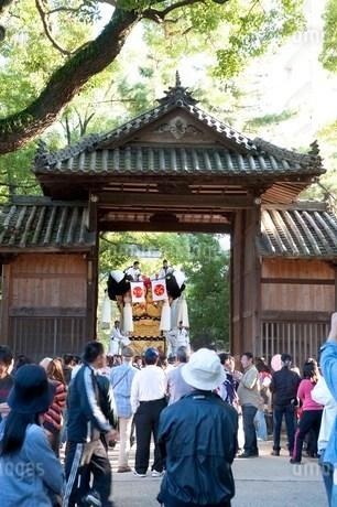 川之江太鼓祭りの写真素材 [FYI01699934]