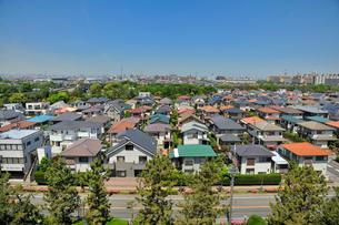 浦安住宅街の写真素材 [FYI01699985]