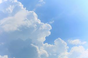 雲と青空の写真素材 [FYI01700216]