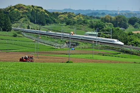 東海道新幹線 N700系の写真素材 [FYI01700388]