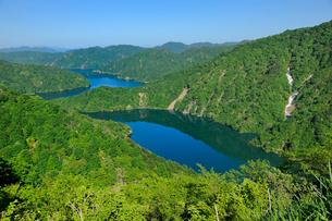 田子倉湖の写真素材 [FYI01701165]