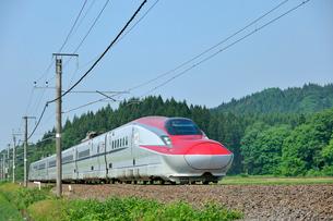 秋田新幹線こまちの写真素材 [FYI01701536]