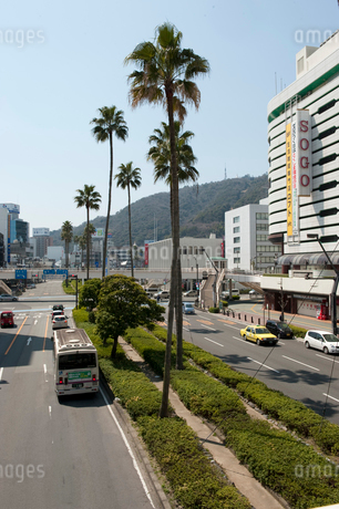 JR徳島駅前の写真素材 [FYI01703629]