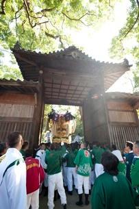 川之江太鼓祭りの写真素材 [FYI01703696]