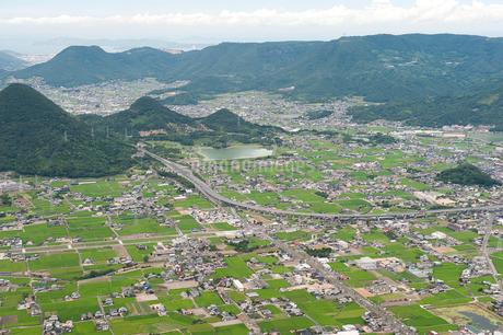 空撮(讃岐平野)の写真素材 [FYI01704456]
