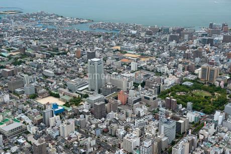 高松市街地(空撮)の写真素材 [FYI01704542]