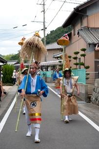 ひょうげ祭りの写真素材 [FYI01704601]