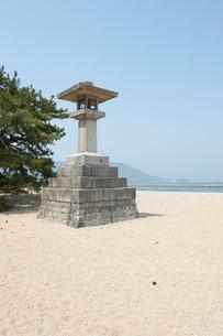 津田の松原の写真素材 [FYI01704687]
