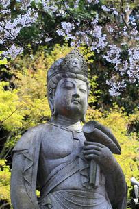 紀三井寺の幸福観音の写真素材 [FYI01704855]