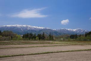 奥羽山脈の写真素材 [FYI01707578]