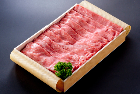 牛肉箱入りの写真素材 [FYI01708042]