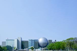 プラネタリウム野あるビル街の写真素材 [FYI01708215]