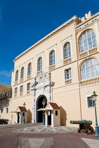 モナコの大公宮殿の写真素材 [FYI01708719]