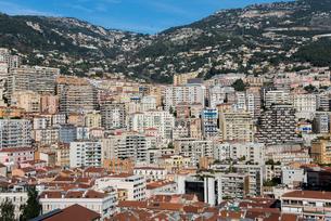 モナコのマンション街の写真素材 [FYI01708899]