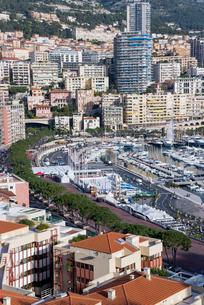 モナコ市街の写真素材 [FYI01708914]